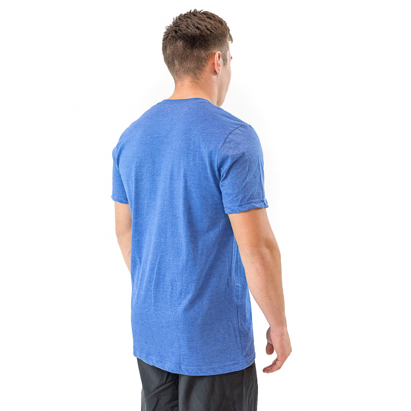 BLUE TSHIRT POCKET MEN