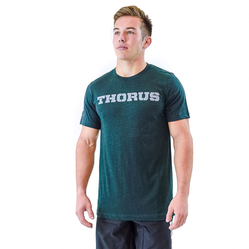 T-SHIRT EMERALD COLOR MEN