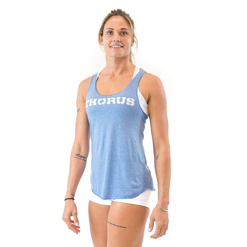 WOMEN'S ATHLETIC BLUE CLASSIC TANK