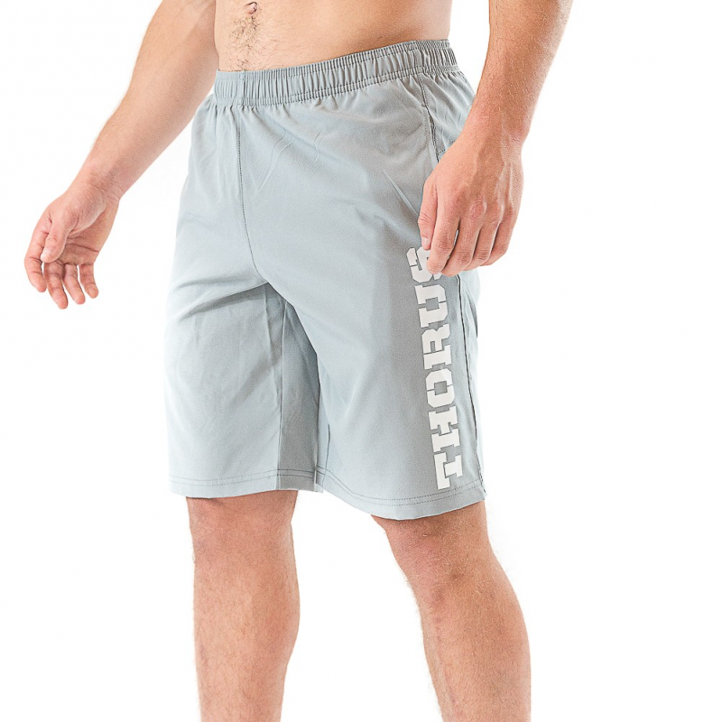 GREY TRAINING MEN SHORT