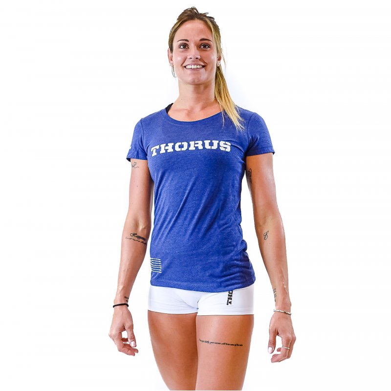T-SHIRT TRUE ROYAL BLUE WOMEN