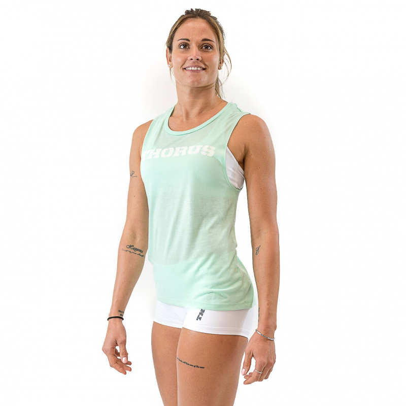 MUSCLE TANK MINT WOMEN