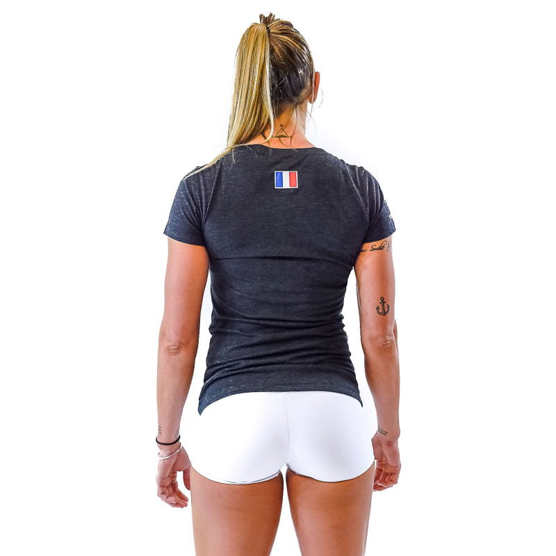 BLACK FRANCE TSHIRT WOMEN