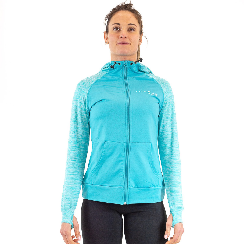WOMEN'S TRAINING TEAL ZOODIE