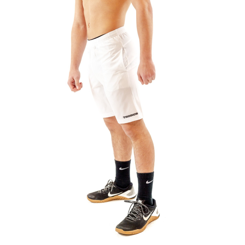 WHITE TRAINING KID SHORT
