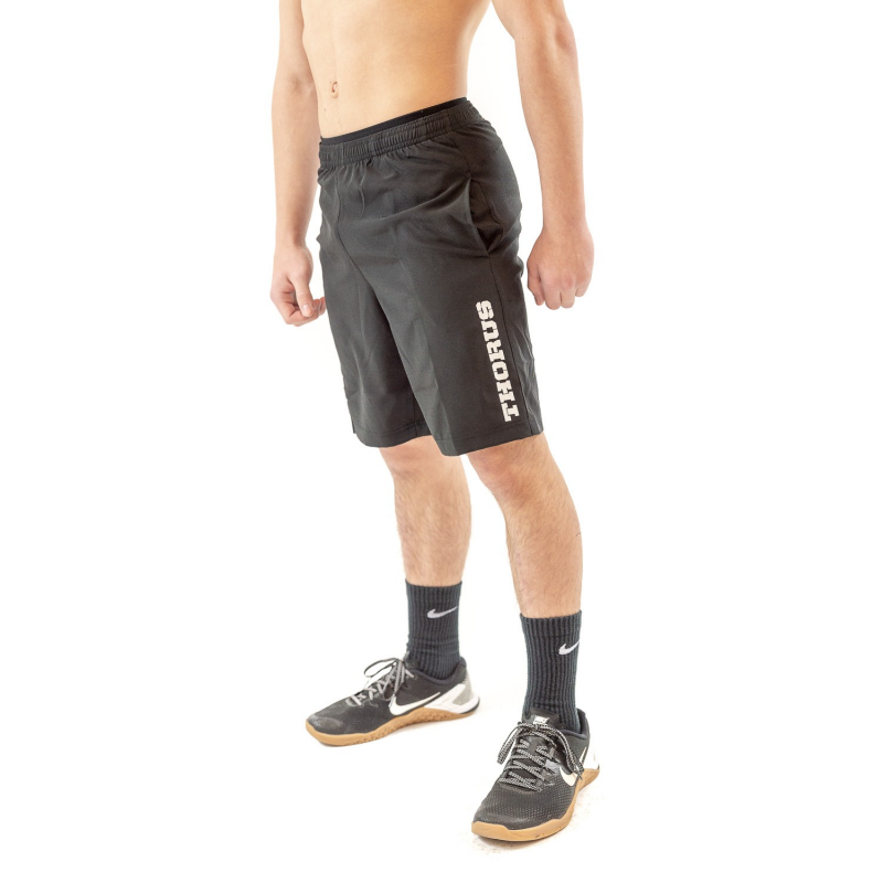 BLACK TRAINING KID SHORT