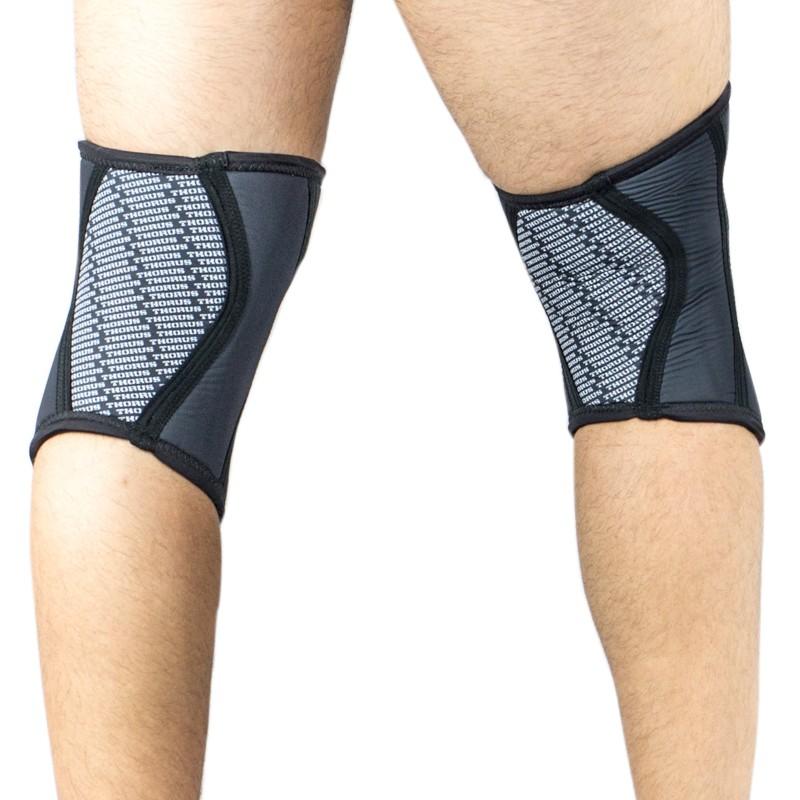 Black knee sleeves