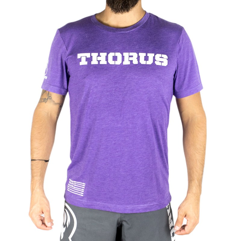 T SHIRT PURPLE CLASSIC MEN
