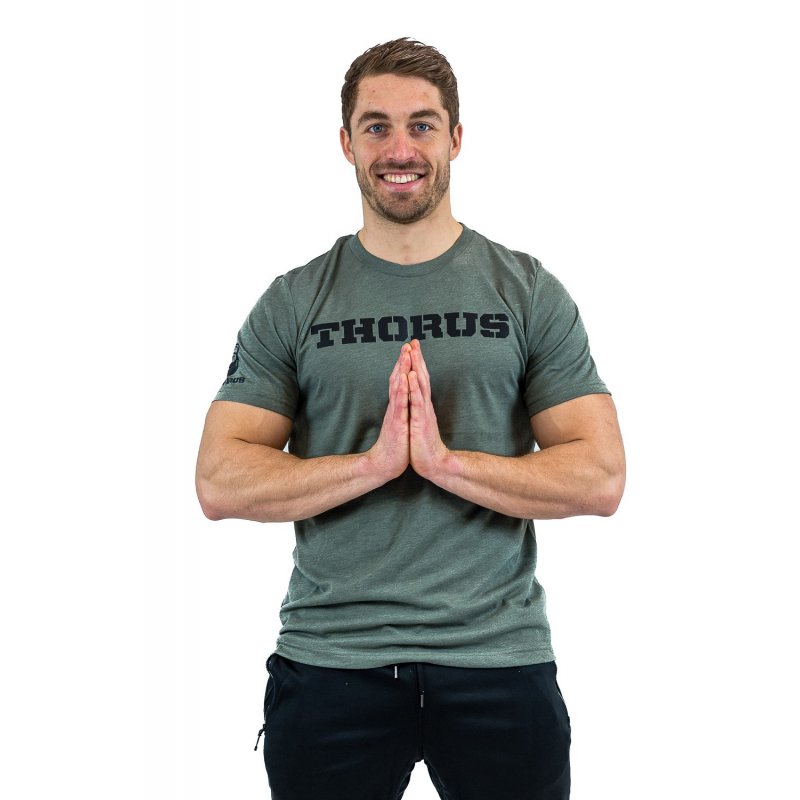 MILITARY GREEN TSHIRT CLASSIC MEN