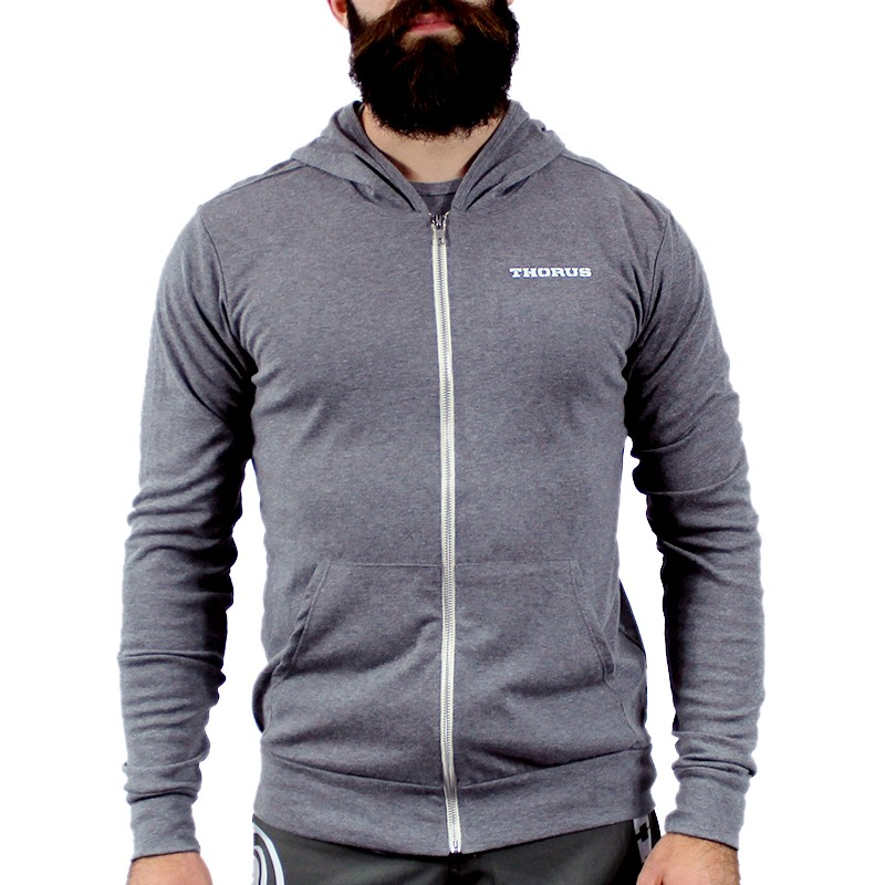 VESTE A CAPUCHE GREY LIGHT UNISEX