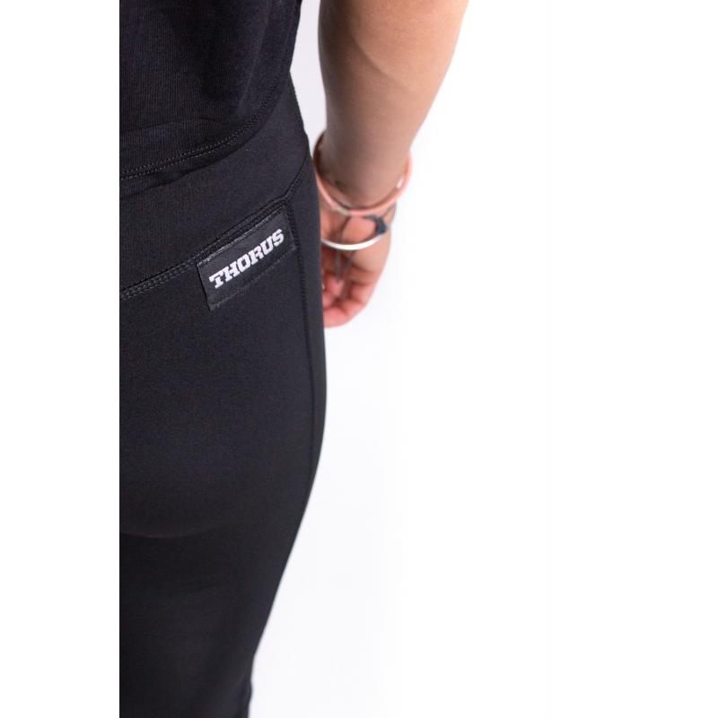 WOMEN'S BLACK LEGGING POCKET
