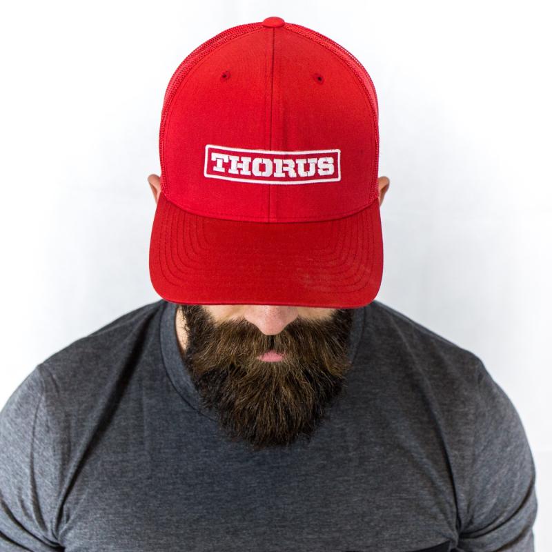 TRUCKER RED CAP