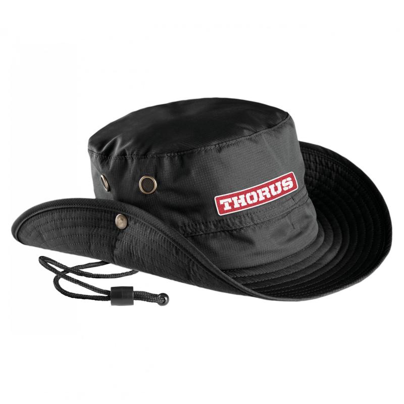 BLACK NIGEL BUCKET HAT