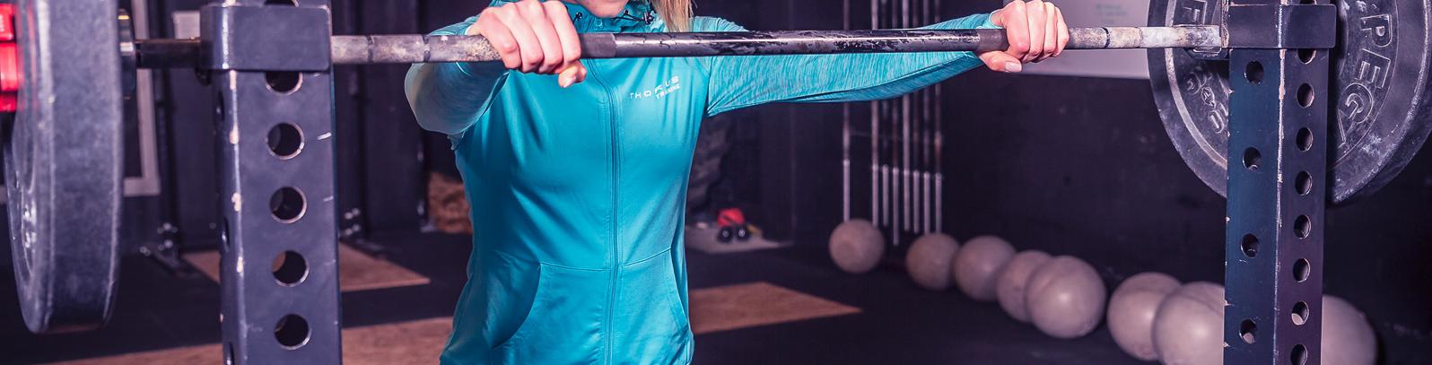 Vestes à capuche femme CrossFit